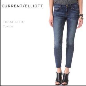 "Current/Elliott Jeans ""The Stiletto Townie"" Sz 26"
